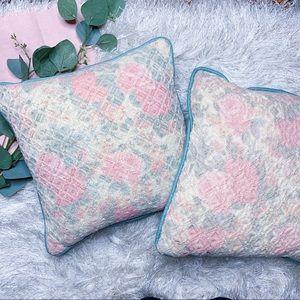 Vintage Floral Pillows